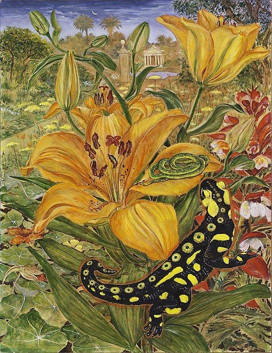Die Liebe des Salamanders