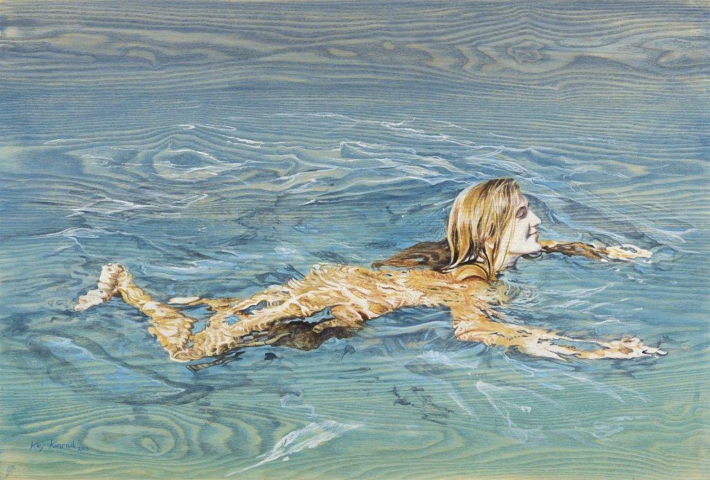 Frei schwimmen