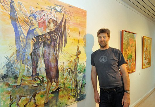 Zyklus Don Quijote: man beachte meinen Schatten