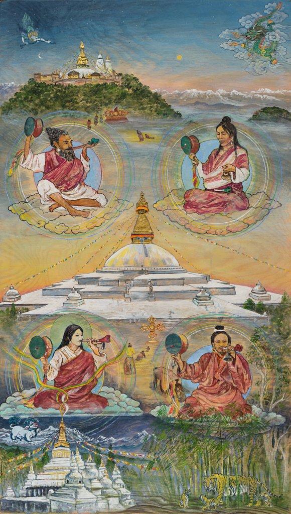 3 Stupas in Nepal